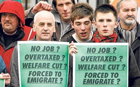 Irlanda: del éxtasis a la agonía…