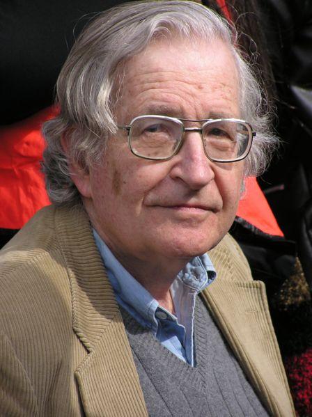 Una aguda reflexión de Noam Chomsky sobre el lenguaje del imperialismo