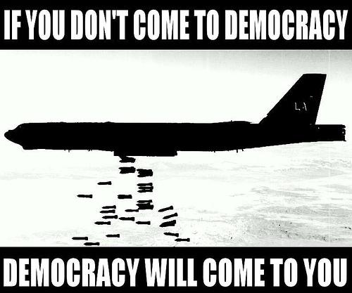 Chomsky habla sobre la realidad de la democracia