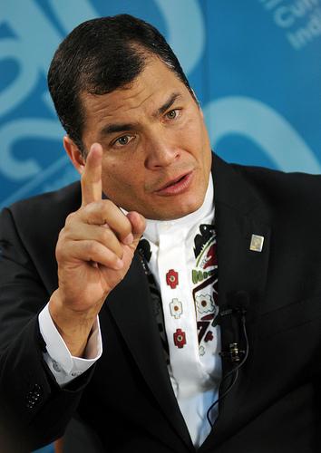 Rotunda, concisa y precisa carta de Rafael Correa a propósito de la futura Cumbre de las Américas