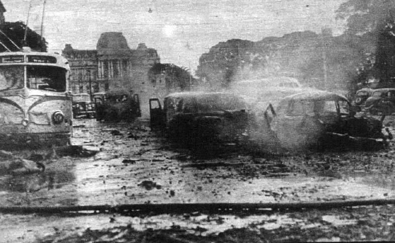 Un aniversario luctuoso: el bombardeo a Plaza de Mayo