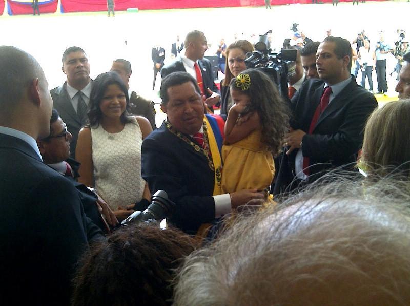 ¿Cómo está Chávez?