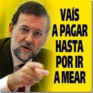 Rajoy: la «destrucción creativa» del neoliberalismo.