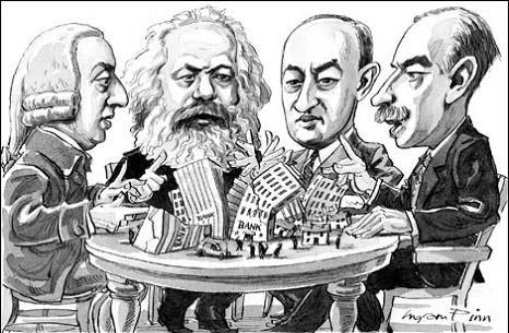 Marx y los grandes economistas, hoy ausentes de la academia