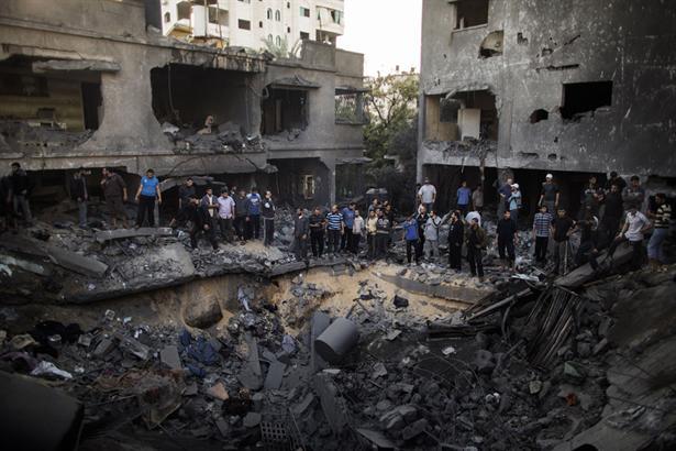 Entrar en Gaza es entrar en el infierno