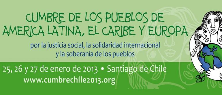 Cumbre de los pueblos en Santiago de Chile