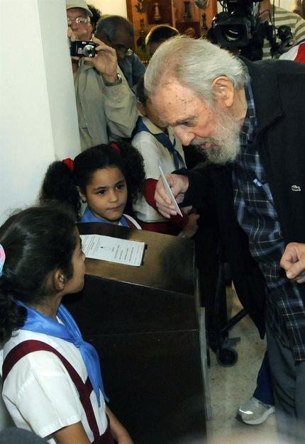 Fidel: primera aparición pública desde el 2006