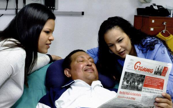 ¿Asesinaron a Chávez inoculándole un cáncer?