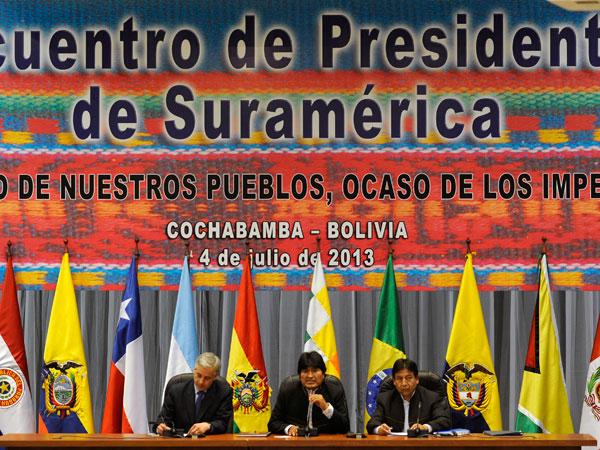 Alianza del Pacífico saboteó la reunión de Cochabamba