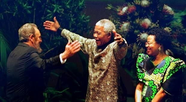 Mandela ,Fidel y la derrota del racismo en Sudáfrica