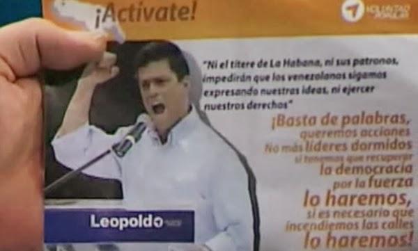 La amenaza fascista en Venezuela