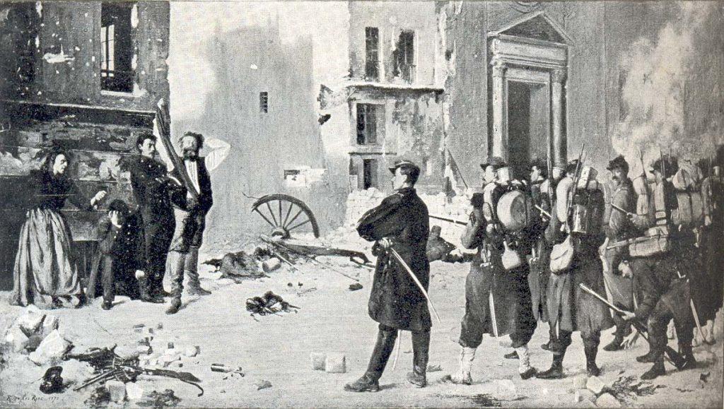 Lo que hace la contrarrevolución: enseñanzas de la Comuna de París