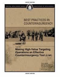 CIA: las «mejores prácticas» en la contrainsurgencia.