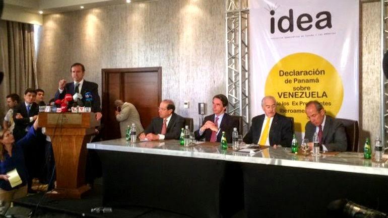 PANAMÁ: 26 ex mandatarios denuncian falta de libertad en Venezuela