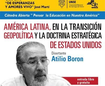 Agenda de Atilio Boron