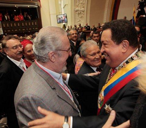 Chávez, hace cinco años