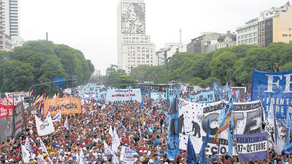 La violencia en la Argentina