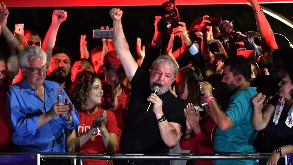 La proscripción de Lula