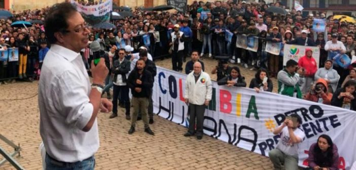 Lento parto en Colombia