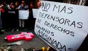 Asesinato de líderes sociales en Colombia.