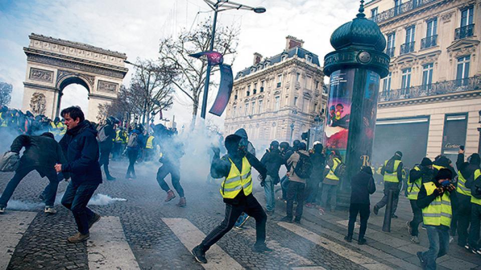 """""""Chalecos amarillos"""": la peculiaridad de lo francés"""