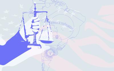 La presencia de EE. UU. en las cuestiones jurídicas de América Latina