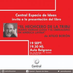 Jueves 19 de septiembre, presentación de El Hechicero de la Tribu en Tucumán