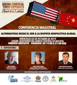 Miércoles 2 de octubre en La Paz