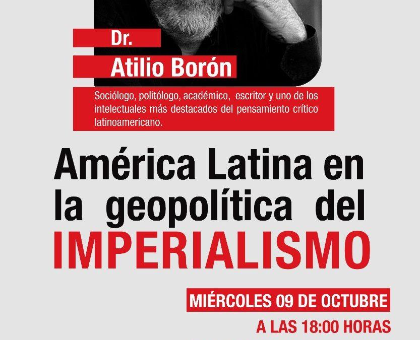 Miércoles 9 de octubre en la Universidad Austral de Chile