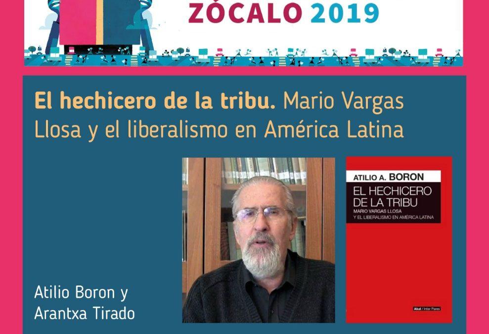 Martes 15 de octubre en la Feria del Libro del Zócalo 2019, Ciudad de México
