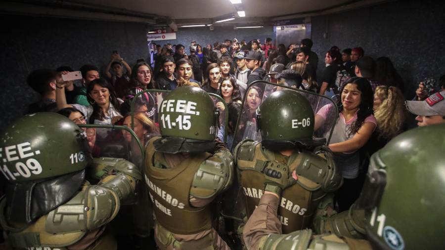 Piñera y la represión