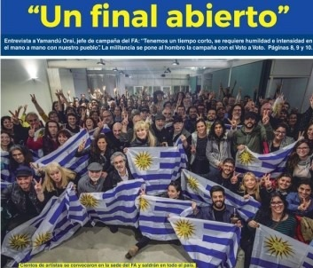 Uruguay: un balotaje de música ligera