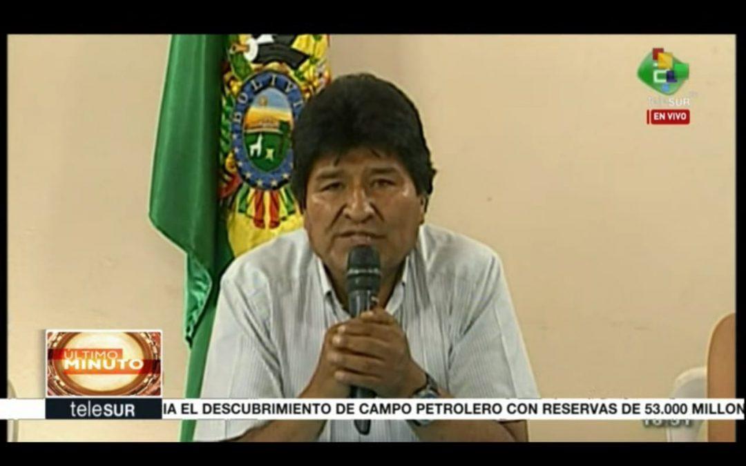 El golpe en Bolivia: cinco lecciones:  por Atilio Boron