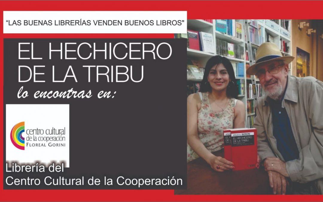 El Hechicero de la Tribu en las buenas librerías argentinas