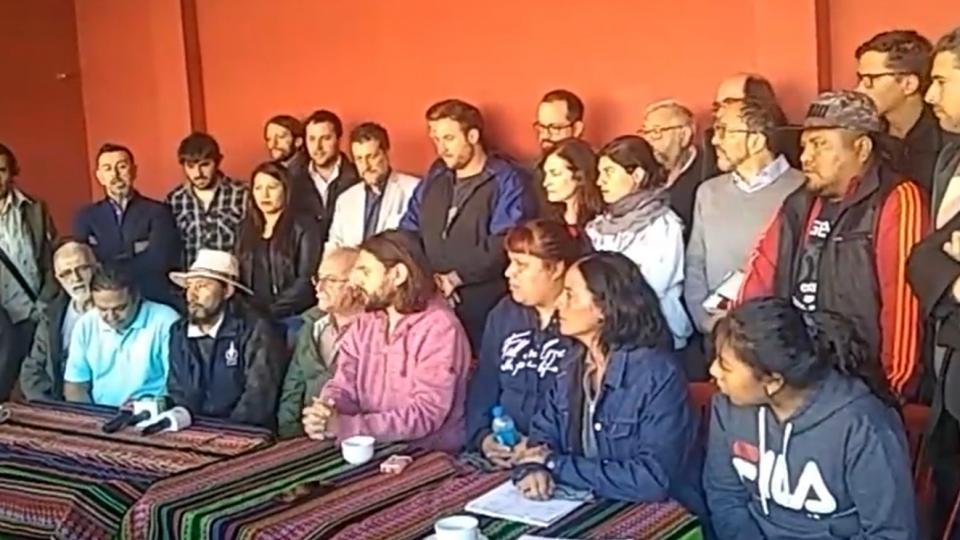 Declaración de la Delegación Argentina en Solidaridad con Bolivia