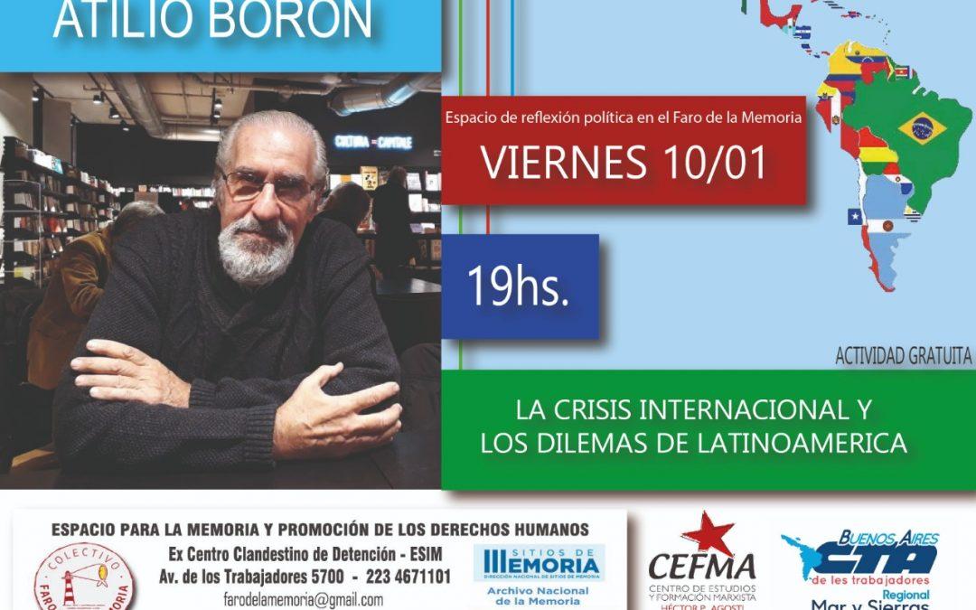 Viernes 10 de enero en Mar del Plata