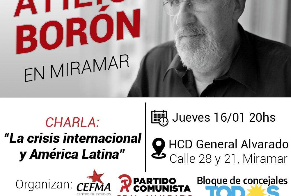 Jueves 16 de enero en Miramar
