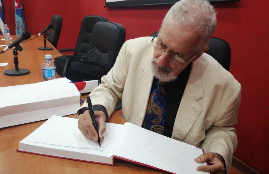 Conferencia y firma en el Libro de Honor del Instituto Superior de Relaciones internacionales «Raúl Roa»