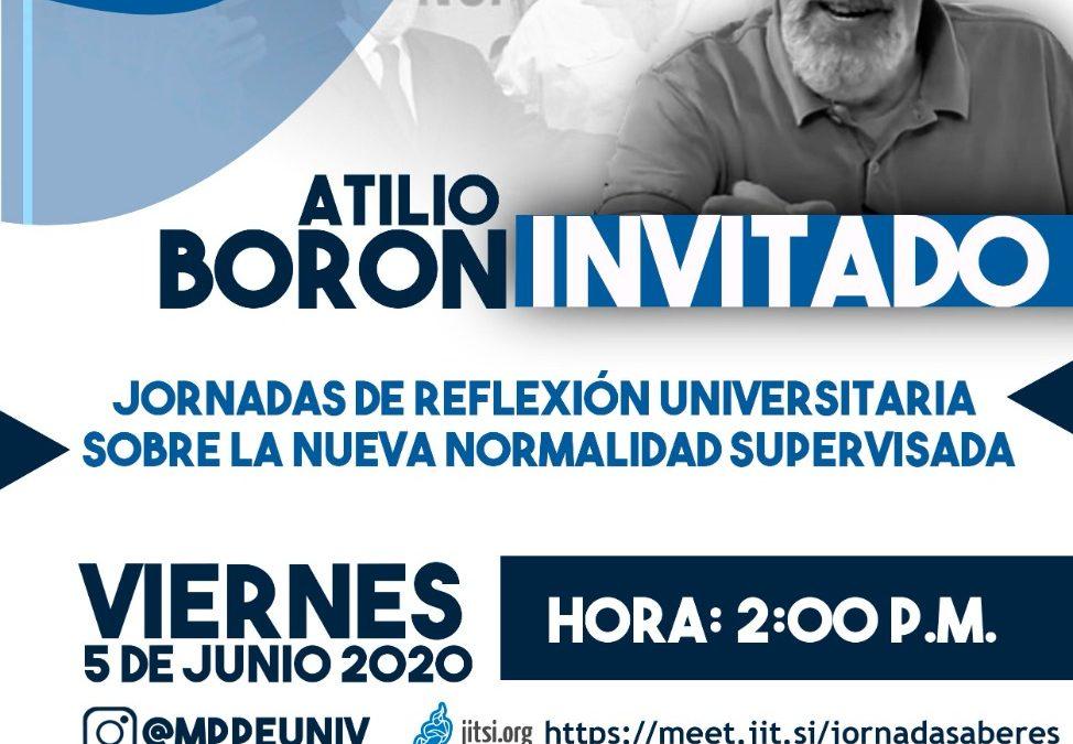 Viernes 5 de junio 14hs (Argentina)