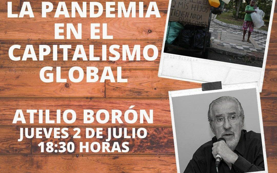 Charla sobre los Efectos de la Pandemia en el Capitalismo Global