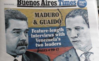Maduro dialoga con un periodista de verdad