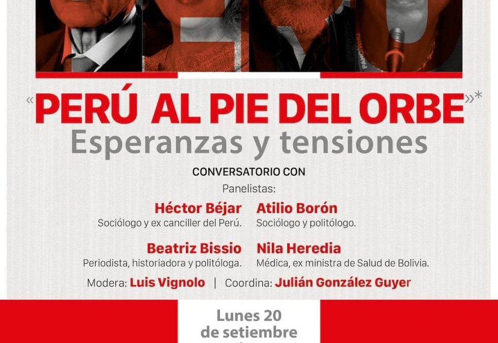 Notable panel este lunes organizado por Fundación Vivian Trías del Uruguay. Enterate de todo lo que tenés que saber para entender lo que está pasando en Perú en este video: