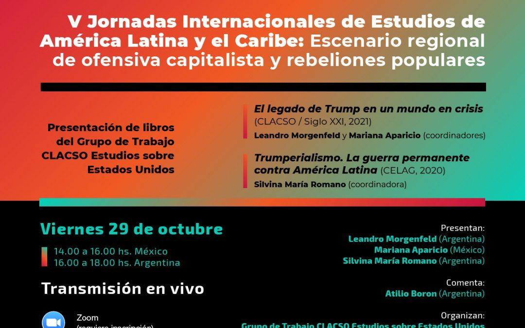 Viernes 29 de octubre a las 18hs (Argentina)