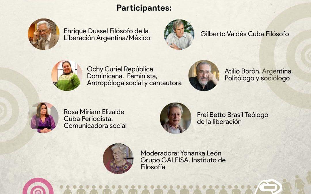 Lunes 25 de octubre a las 15hs (Argentina)