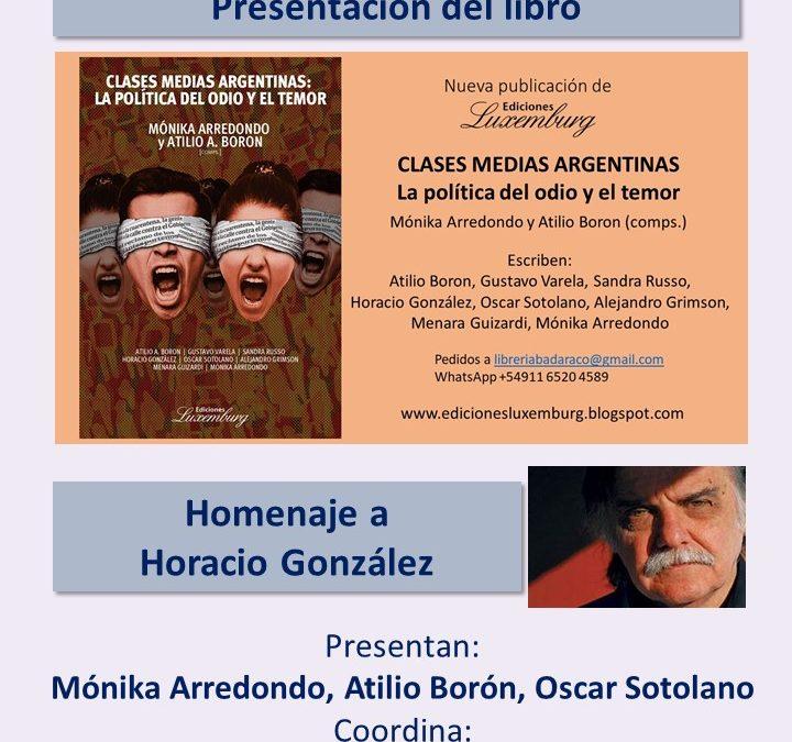 Miércoles 27 de octubre a las 20hs (Argentina)